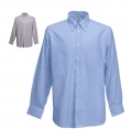 OXFORD SHIRT LONG SLEEVE 135G - 70% COTTON/ 30% POLYEST