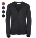 WOMEN KNITTED CARDIGAN 275G - 50% COTTON/ 50% ACRYLIC