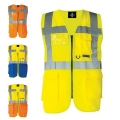 HIGH VISIBILITY MULTIFUNCTIONAL SAFETY VEST, ISO 20471