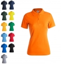 WOMEN COLOR POLO T-SHIRT 'KEYA' WPS180