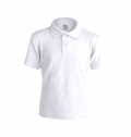 KIDS WHITE POLO SHIRT 'KEYA' YPS180