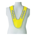 HIGH VISIBILITY KIDS SAFETY COLLAR EN 13356 - 100% POLY