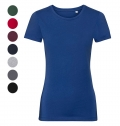 AUTHENTIC TEE PURE ORGANIC LADIES T-SHIRT 160G - 100% O