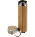 BAMBOO AND STAINLESS STEEL DOUBLE WALLED BOTTLE