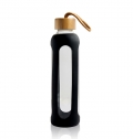 600ML GLASS BOTTLE WITH BAMBOO LID