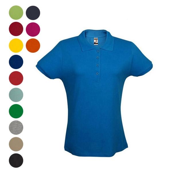 Kit Camisetas Gola Polo Amarelo Masculino e Feminino